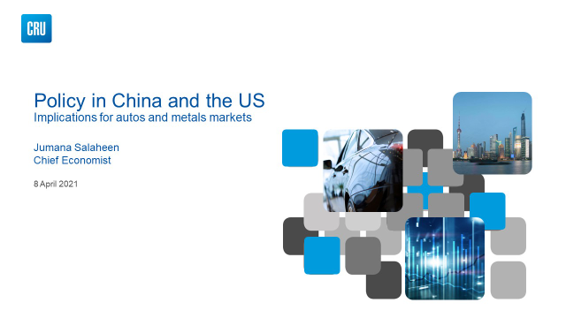 Policy in China and the US: Implications for Autos and Metal Markets