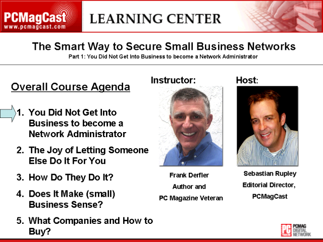 The Smart Way to Secure Small Business Networks: Part 1