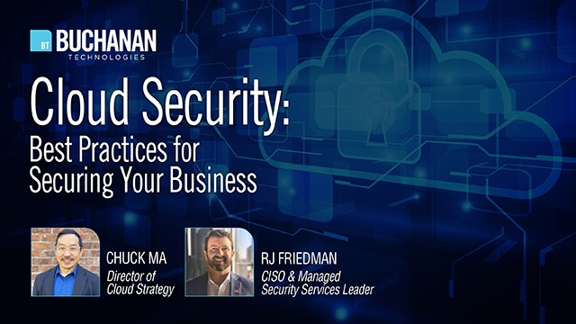Cloud Security: Best Practices for Securing Your Business