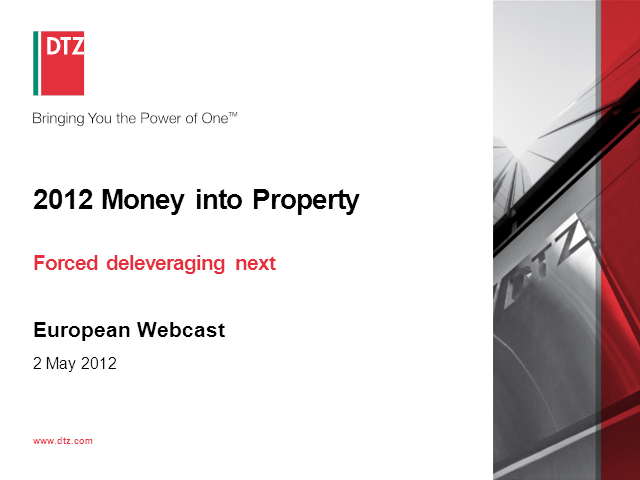 Money into Property Europe 2012