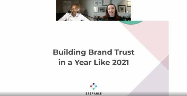 Building Brand Trust in a Year Like 2021