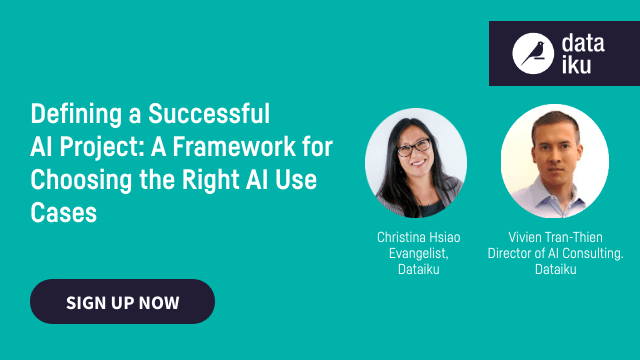 Defining a Successful AI Project: A Framework for Choosing the Right AI Use Case