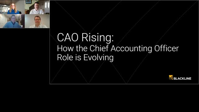 CAO Rising: How the Chief Accounting Officer role is evolving