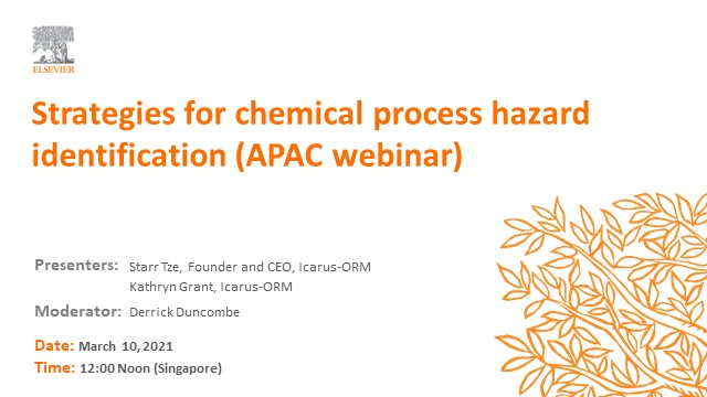 Strategies for chemical process hazard identification (APAC)
