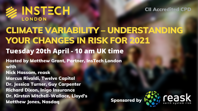 Climate Variability – Understanding Your Changes in Risk for 2021