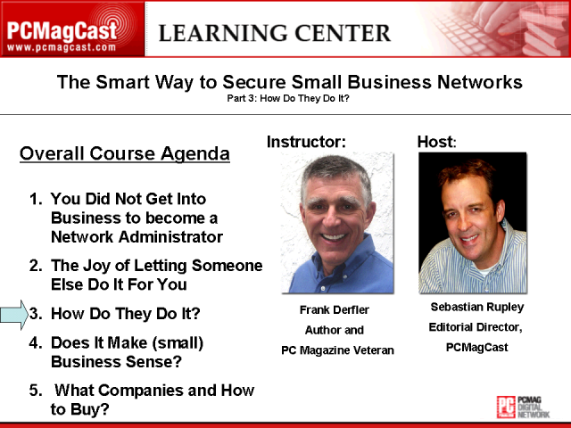 The Smart Way to Secure Small Business Networks: Part 3