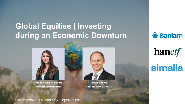 Global Equities: Investing During an Economic Downturn