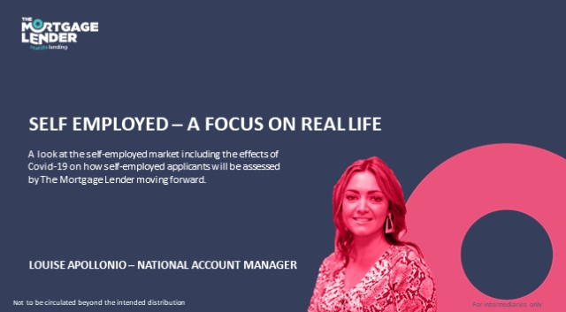 The Mortgage Lender - Self Employed: A Focus on Real Life