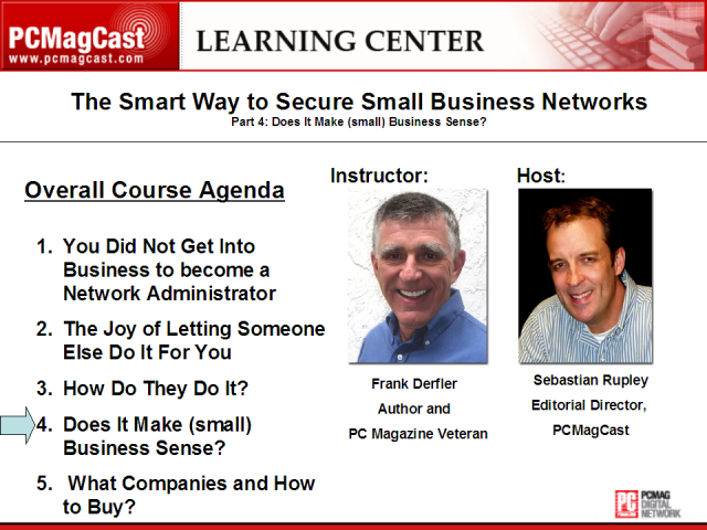 The Smart Way to Secure Small Business Networks: Part 4