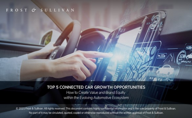 Top 5 Connected Car Growth Opportunities