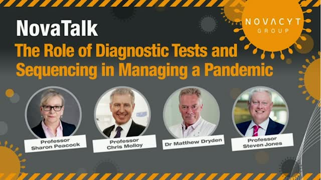 The Role of Diagnostic Tests and Sequencing in Managing a Pandemic