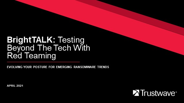 Red Team Rules: The Importance of Human-Led Testing