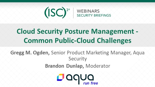 Cloud Security Posture Management - Common Public-Cloud Challenges
