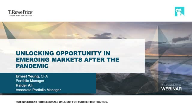 Unlocking Opportunity in Emerging Markets After the Pandemic