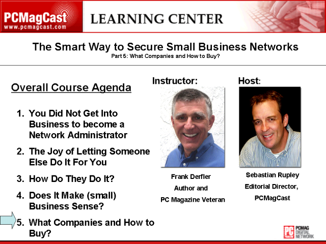 The Smart Way to Secure Small Business Networks: Part 5