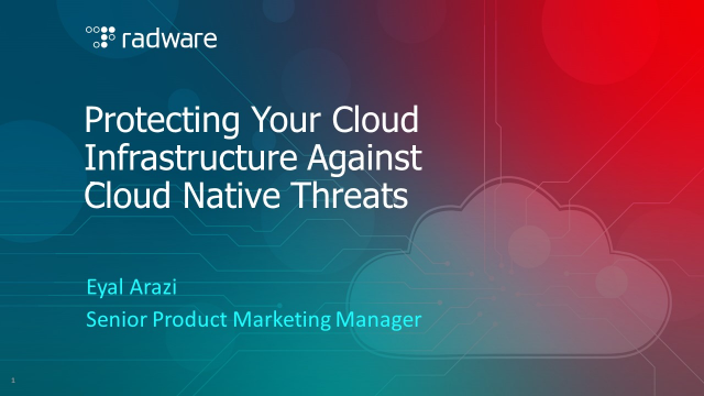 Protecting Your Cloud Infrastructure Against Cloud Native Threats