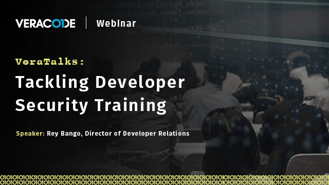 VeraTalks: Tackling Developer Security Training