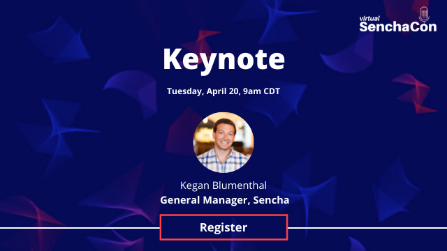 Virtual SenchaCon—Keynote