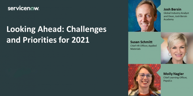 Looking Ahead: Challenges and Priorities for 2021