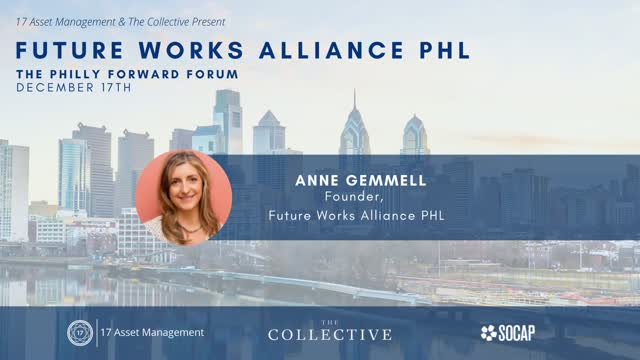 Investment Announcement - Future Works Alliance PHL