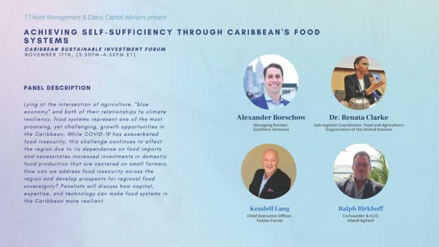 CSIS - Achieving Self-Sufficiency Through Caribbean's Food Systems