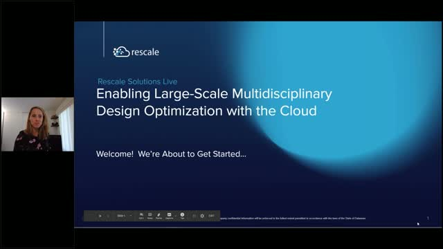 Enabling Large-Scale Multidisciplinary Design Optimization with the Cloud