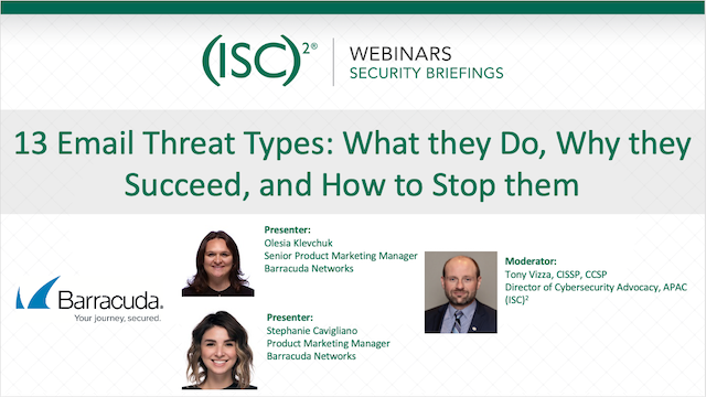 13 Email Threat Types: What they Do, Why they Succeed, and How to Stop them