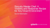 Security Master Chef: A Visibility and Response Recipe for Any Cloud Environment