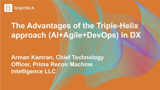 The Advantages of the Triple-Helix approach (AI+Agile+DevOps) in DX