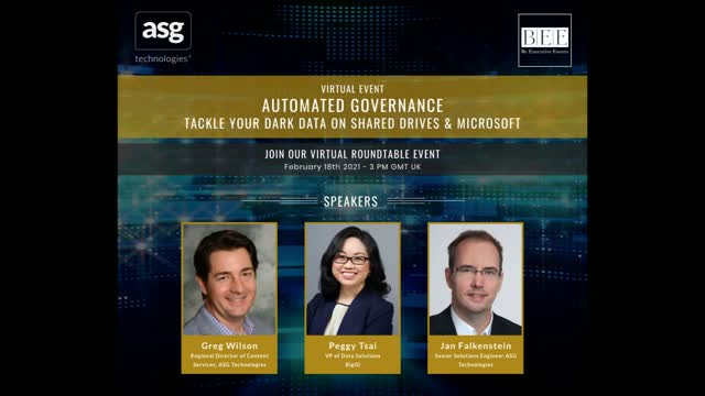 Automated Governance: Tackle Your Dark Data on Shared Drives & Microsoft