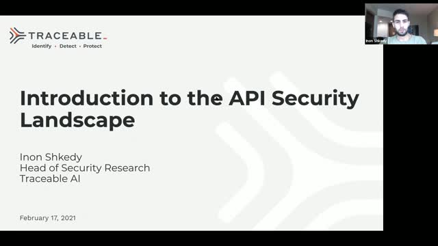 Introduction to the API Security Landscape