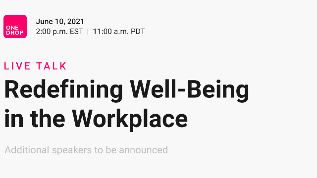 Redefining Well-Being in the Workplace