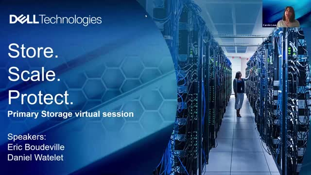 Store. Scale. Protect. PowerStore virtual session