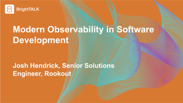 Modern Observability in Software Development