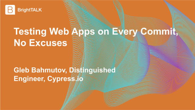 Testing Web Apps on Every Commit, No Excuses