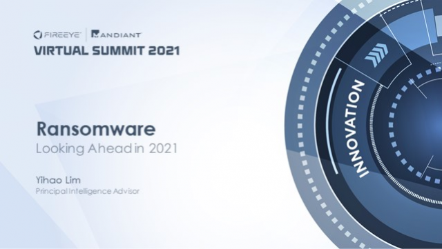 Ransomware: Predictions for 2021