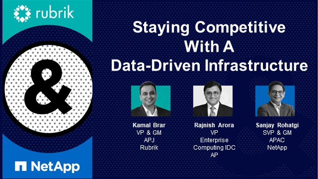 Staying Competitive with a Data-Driven Infrastructure