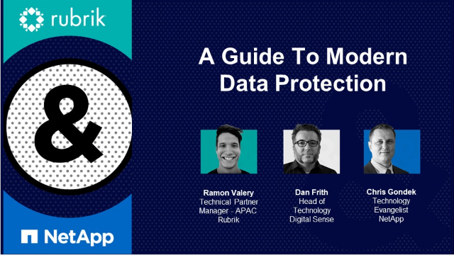 A Guide To Modern Data Protection