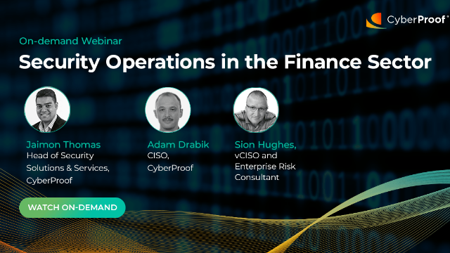 CISO Talks: Security Operations in the Finance Sector