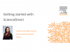 Getting started with ScienceDirect