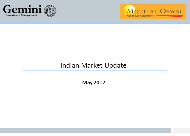 India: An Economic and Market Update