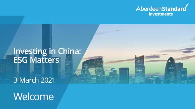 Investing in China: ESG Matters