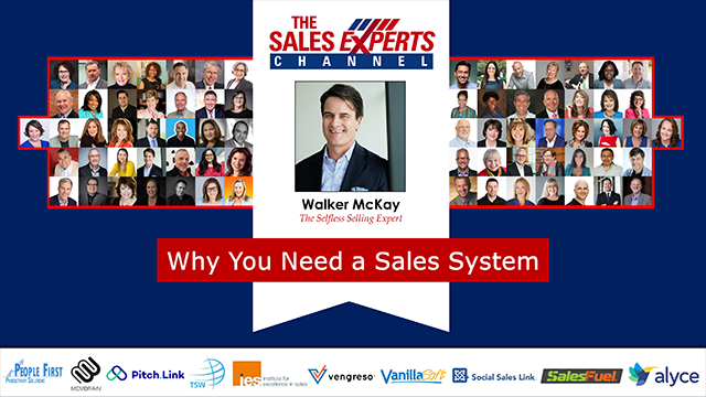 Why You Need a Sales System