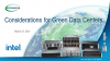 Considerations for Green Data Centers - 2021