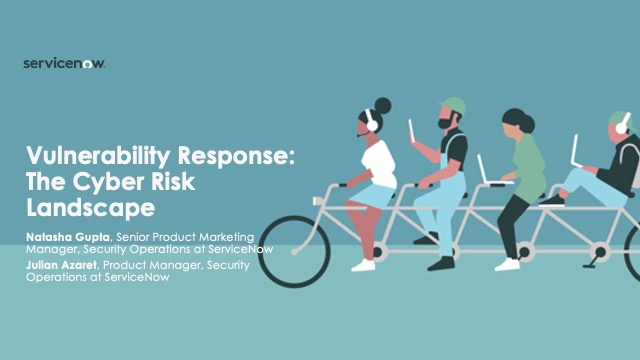 Vulnerability Response: The Cyber Risk Landscape