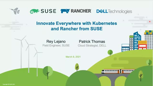 Innovate Everywhere with Kubernetes and Rancher from SUSE