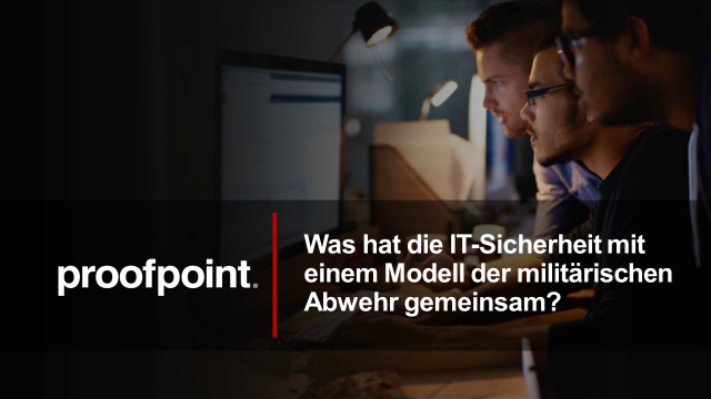 """Kill-Chain"" & People-Centric IT Security Controls - Deutsches Webinar"