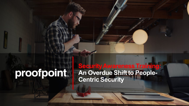 An Overdue Shift to People-Centric Security