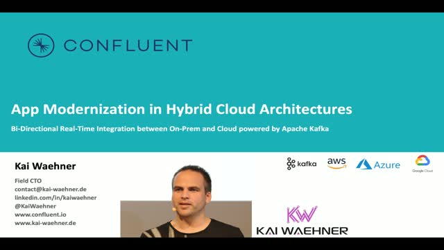 Gaining Control of Hybrid Cloud with Apache Kafka® and Confluent Cloud