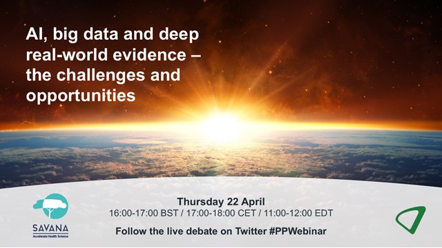 AI, big data and deep real-world evidence – the challenges and opportunities